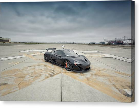 Canvas Print featuring the photograph #mclaren #mso #p1 by ItzKirb Photography