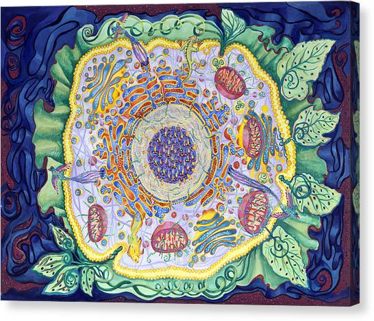 Ode To The Eukaryote Canvas Print