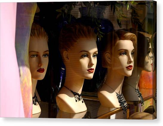 4 Of Us Canvas Print by Jez C Self