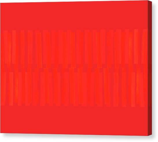 Stripe Canvas Print - Overtly Subtle by Carol Leigh