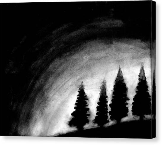 4 Pines Canvas Print