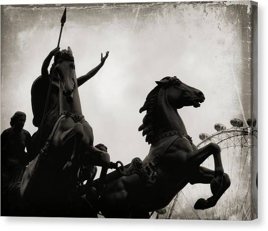 England's Queen Boudica  Canvas Print by JAMART Photography