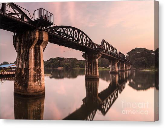 River Kwai Bridge Canvas Print