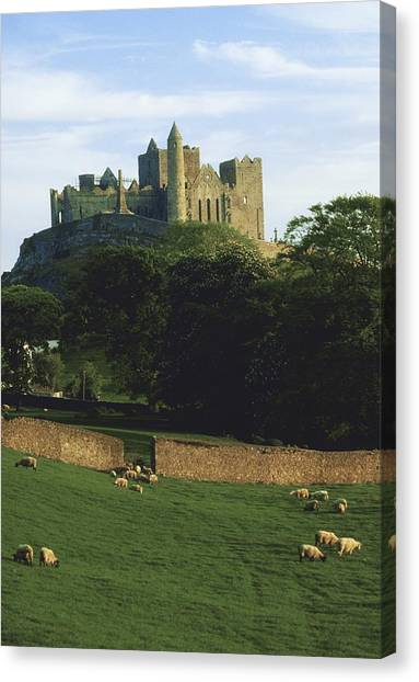 St. Patricks Day Canvas Print - Rock Of Cashel, Co Tipperary, Ireland by The Irish Image Collection