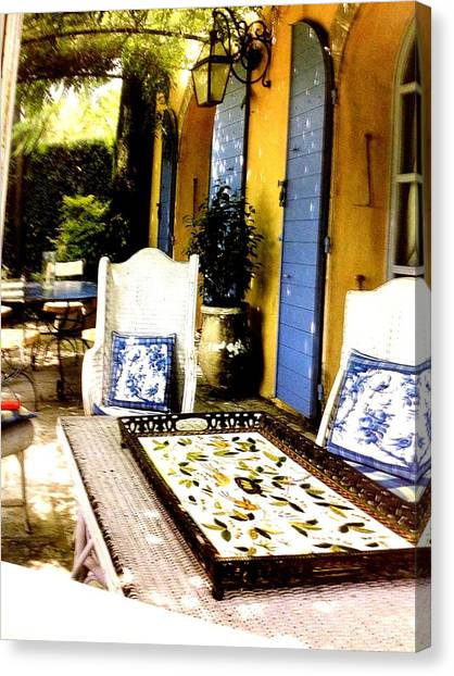 Step Stool Canvas Print - Silence by Frederick Lyle Morris