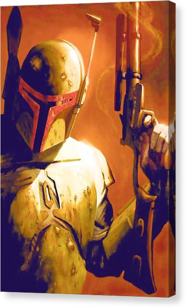 C-3po Canvas Print - Star Wars Episode 2 Poster by Larry Jones