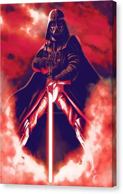 C-3po Canvas Print - Star Wars On Art by Larry Jones