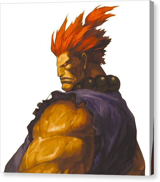 Street Fighter Canvas Print - Street Fighter by Mery Moon