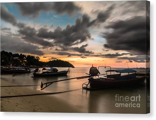 Sunset Over Koh Lipe Canvas Print