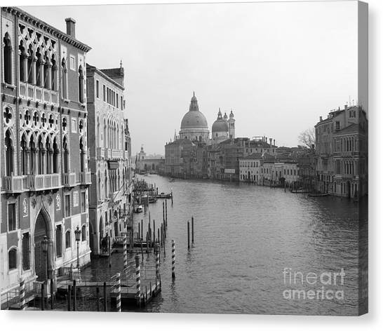 The Grand Canal In Venice Canvas Print