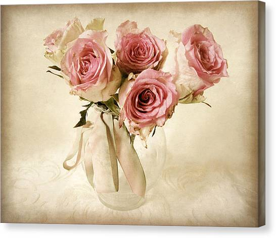 Vintage Bouquet Canvas Print