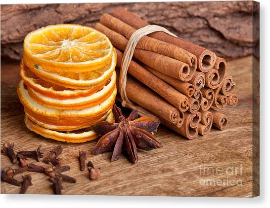 Bakeries Canvas Print - Winter Spices by Nailia Schwarz