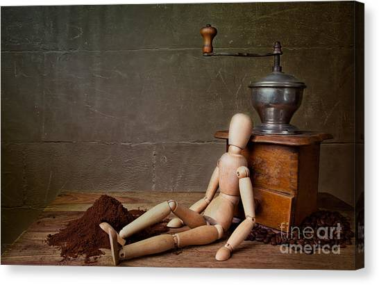 Doll Canvas Print - Working The Mill by Nailia Schwarz