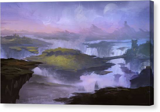 World Of Warcraft Canvas Print - World Of Warcraft by Maye Loeser