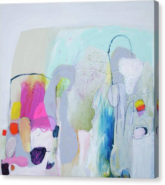 Canvas Print - 4 Years Ago by Claire Desjardins