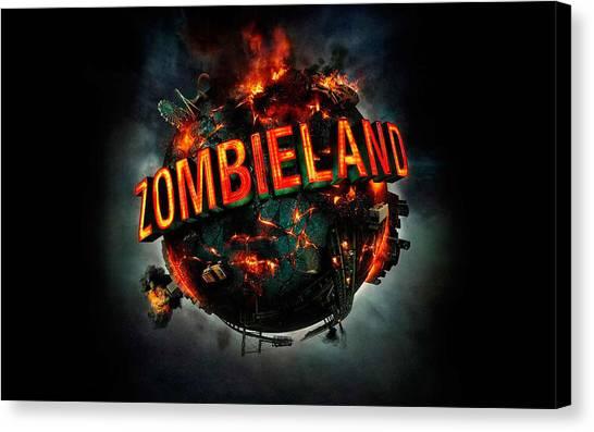 Zombieland Canvas Print - Zombieland                      by F S