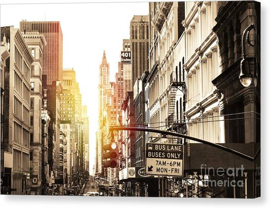 401 Broadway Canvas Print