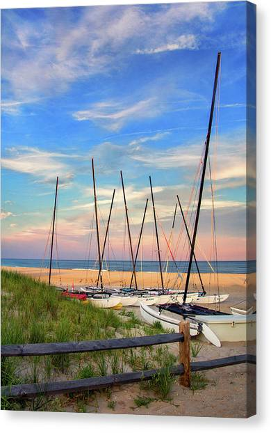 41st Street Beach In Ocean City Nj Canvas Print