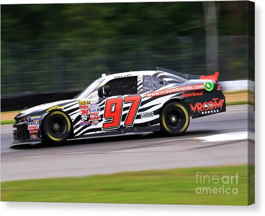 Richard Childress Canvas Print - Chevrolet Nascar Racing by Douglas Sacha
