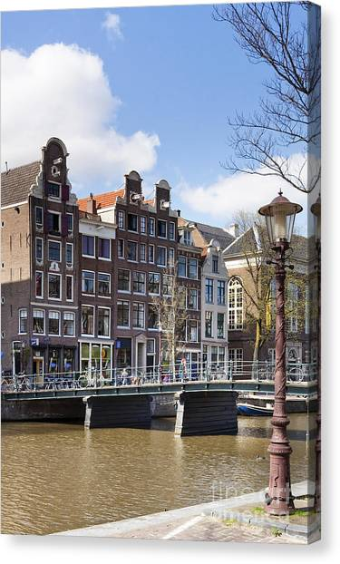 Amsterdam Canvas Print by Andre Goncalves