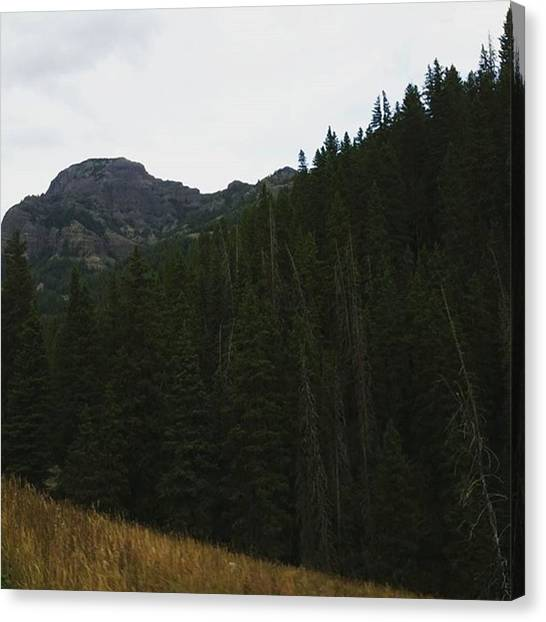 Yellowstone National Park Canvas Print - Montana Home by Jonathan Stoops