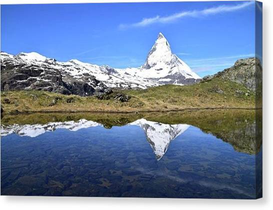 Matterhorn Canvas Print - Instagram Photo by Tomoya Habu