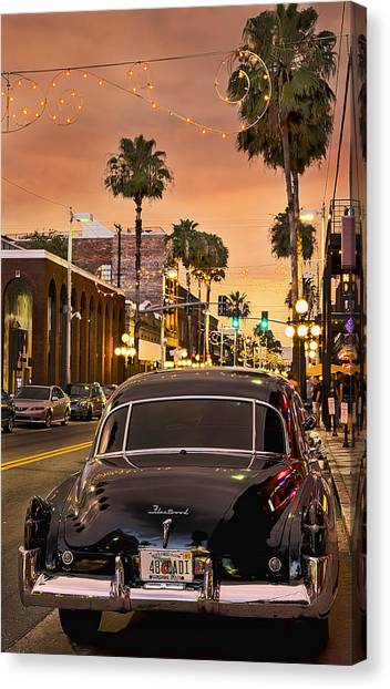Canvas Print featuring the photograph 48 Cadi by Steven Sparks