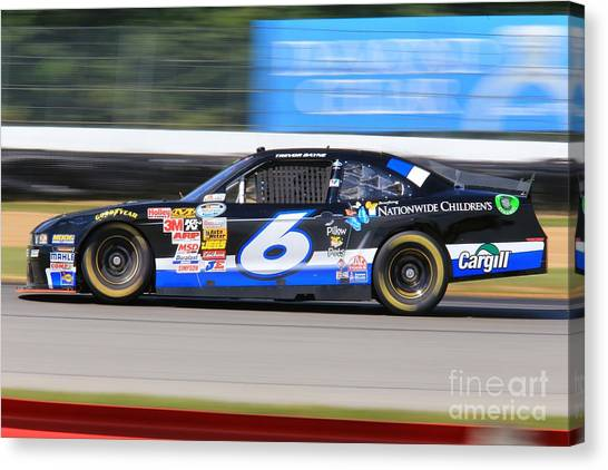 Richard Childress Canvas Print - Nascar Racing by Douglas Sacha