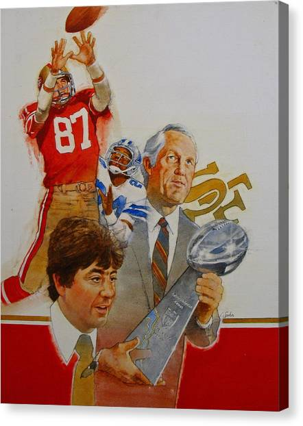 49rs Media Guide Cover 1982 Canvas Print