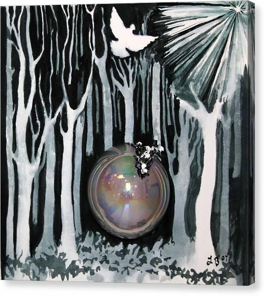 Search Canvas Print - 4th Step by Lucinda Blackstone