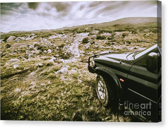 4x4 Canvas Print - 4wd On Offroad Track by Jorgo Photography - Wall Art Gallery
