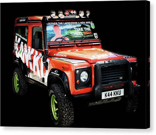 4x4 Canvas Print - 4X4 by Martin Newman