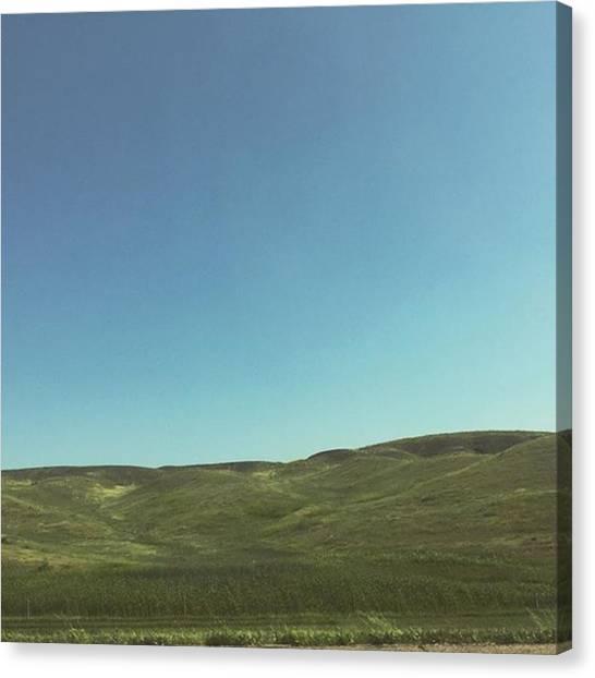 South Dakota Canvas Print - South Dakota by Em Berens