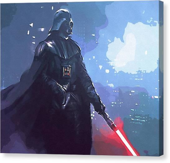 C-3po Canvas Print - A Star Wars Art by Larry Jones