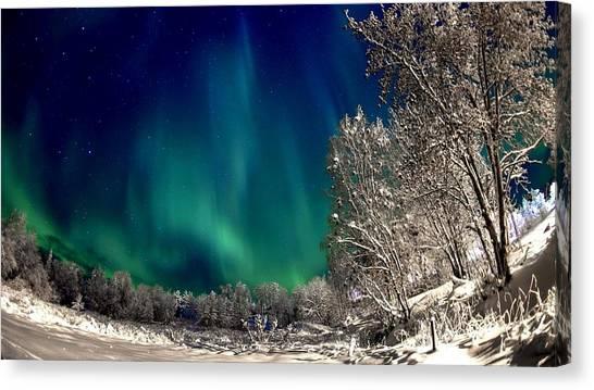 Aurora Borealis Canvas Print - Aurora Borealis by Jackie Russo