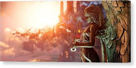 Bioshock Canvas Print - Bioshock Infinite by Super Lovely