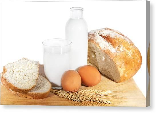 Fluids Canvas Print - Bread by Maye Loeser