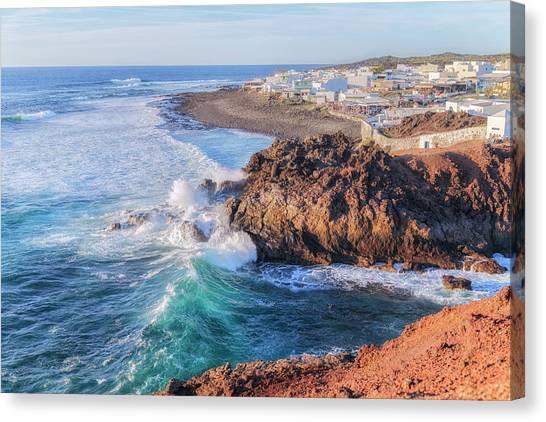 Lanzarote Canvas Print - El Golfo - Lanzarote by Joana Kruse