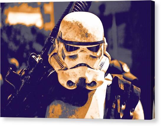 C-3po Canvas Print - Jedi Star Wars Art by Larry Jones