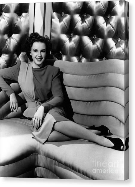 Aod Canvas Print - Judy Garland (1922-1969) by Granger