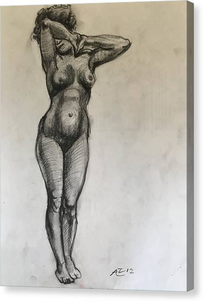 Masterstudy Canvas Print by Alejandro Lopez-Tasso