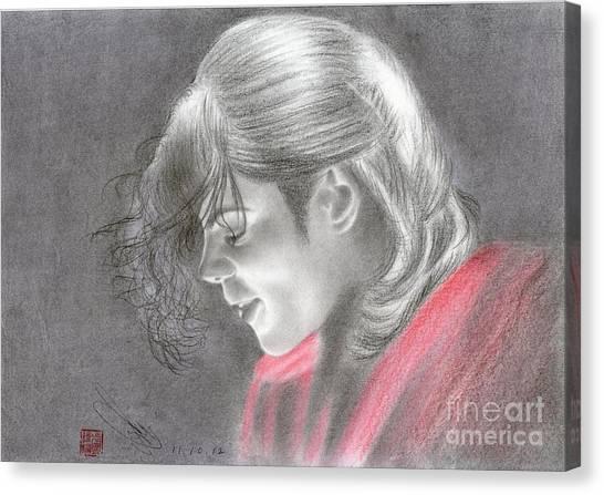 Michael Jackson #one Canvas Print