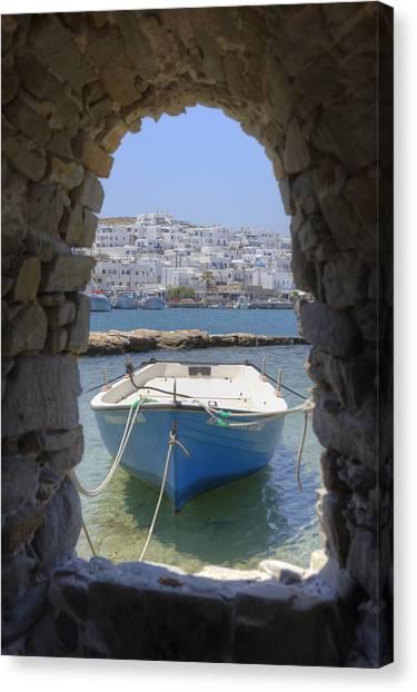 Paros - Cyclades - Greece Canvas Print