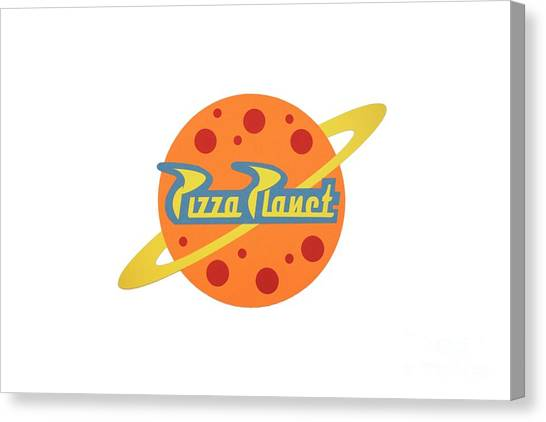 Pizza Planet Canvas Prints Fine Art America