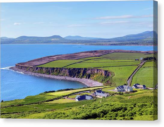Europa Canvas Print - Ring Of Kerry - Ireland by Joana Kruse