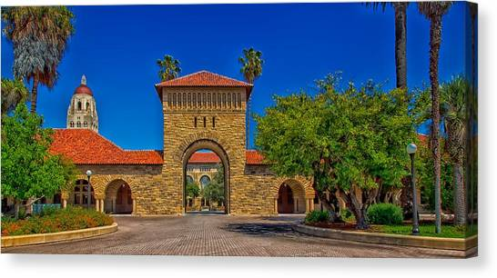 Stanford Canvas Print - Stanford University by Mountain Dreams