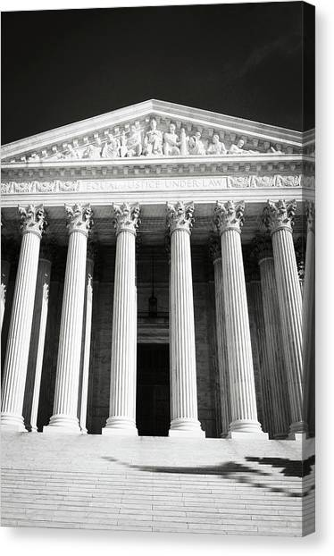 Supreme Court Of The United States Of America Canvas Print