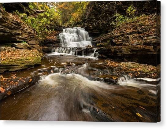 Ricketts Glen State Park Pennsylvania Canvas Print