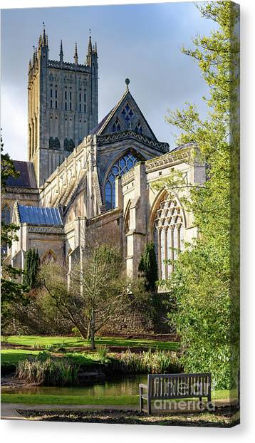 Wells Cathedral Canvas Print