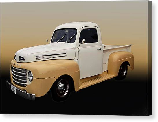 50 Ford Pickup Canvas Print